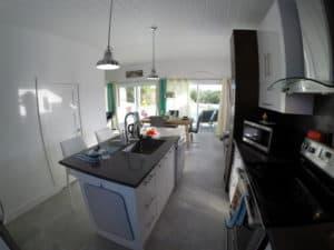 Cuisine de maison à louer aux Iles Turquoise