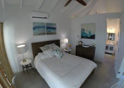 Chambre d'une villa à louer aux Iles Turquoise