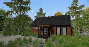 Mini Maison à vendre à St-Sauveur