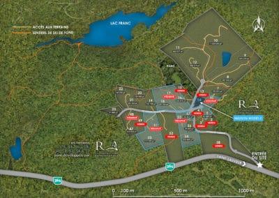 Plan de terrains