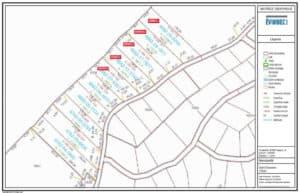 Plan de terrain Côte St-Gabriel Ouest